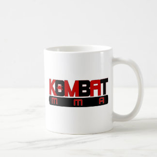 KOMBAT MMA BASIC WHITE MUG