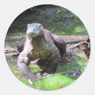 Komodo Dragon (0606) Stickers