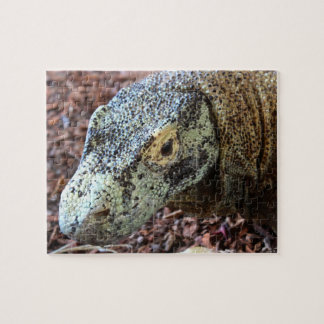 Komodo Dragon Close Up Puzzle