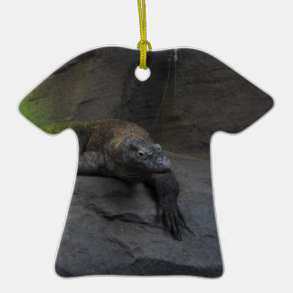 Komodo Dragon Ceramic T-Shirt Decoration