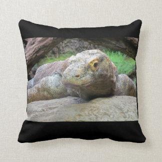 Komodo Dragon Drama Pose Cushion