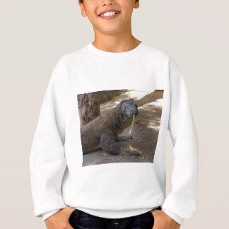 Komodo Dragon Licking Sweatshirt