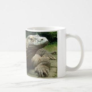 Komodo dragon coffee mugs