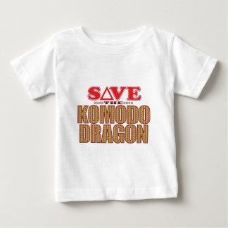 Komodo Dragon Save Baby T-Shirt
