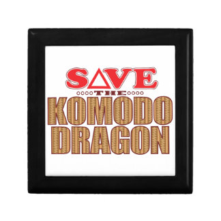 Komodo Dragon Save Gift Box