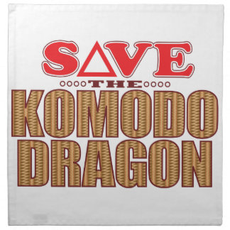 Komodo Dragon Save Napkin
