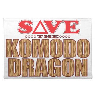 Komodo Dragon Save Placemat