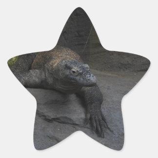 Komodo Dragon Star Sticker