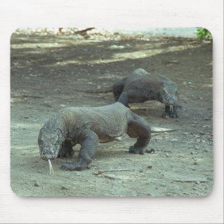 Komodo Dragons Mouse Pad