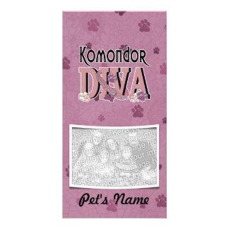Komondor DIVA Custom Photo Card