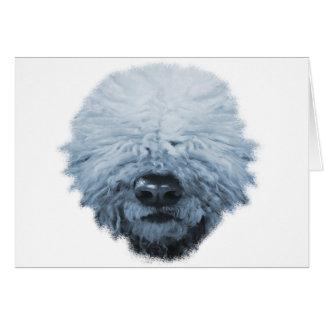 Komondor Dog Card