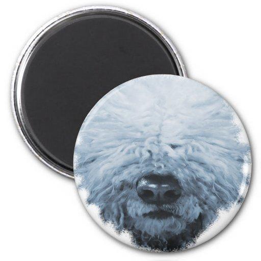 Komondor Dog Magnet