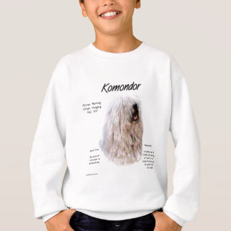 Komondor History Design Sweatshirt