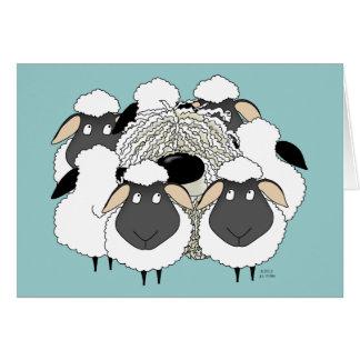 Komondor - Missing Ewe! Greeting Cards