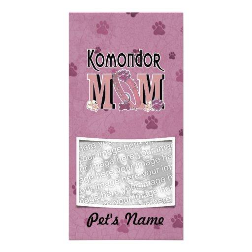 Komondor MOM Personalized Photo Card