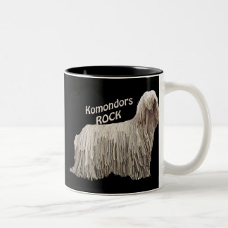 Komondors Rock Two-Tone Coffee Mug