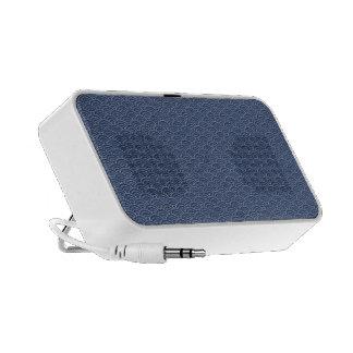 KON - Japanese tabi-style cobalt - densely it is b Portable Speakers