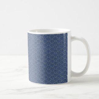 KON - Traditional Japanese design Mug cobalt -