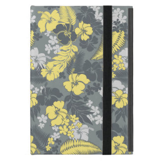 Kona Bay Hawaiian Hibiscus Aloha Shirt Print Cases For iPad Mini