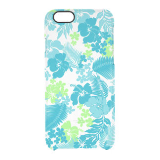 Kona Bay Hawaiian Hibiscus Clear iPhone 6/6S Case