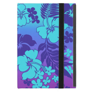 Kona Blend Hawaiian Hibiscus Aloha Shirt Print Covers For iPad Mini