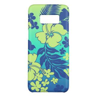 Kona Blend Hawaiian Hibiscus Lime Blue Case-Mate Samsung Galaxy S8 Case