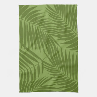 Kona Palms Hawaiian Leaf Tea Towel