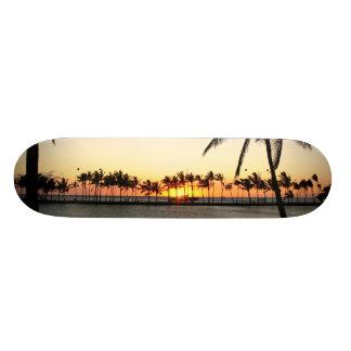 Kona Sunset  board Custom Skateboard