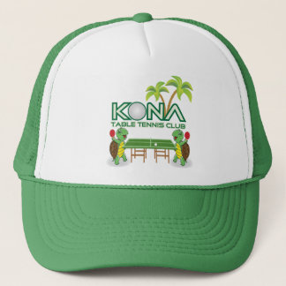 Kona Table Tennis Club Trucker Hat