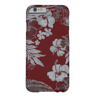 Kona Times Hibiscus Hawaiian Engineered Barely There iPhone 6 Case