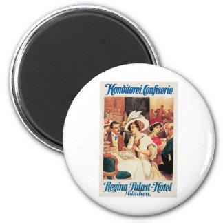 Konditorei Cafe Vintage Food Ad Art 6 Cm Round Magnet