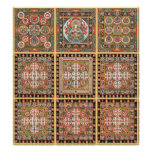 Kongokai Mandala Poster