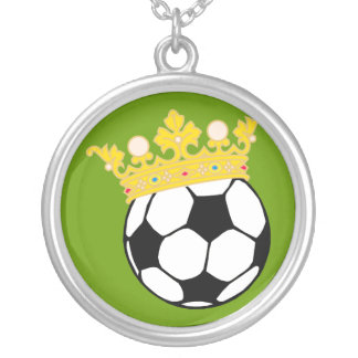 König Fußball king soccer Schmuck
