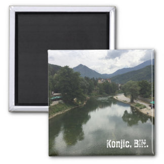 Konjic in the Neretva Valley Magnet