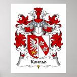 Konrad Family Crest Print