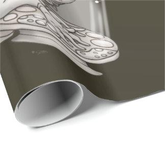 KONRAX ALIEN CARTOON Wrapping Paper 30 X 6