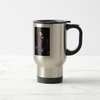 Konstantin Korovin- Portrait of Italian singer Coffee Mug