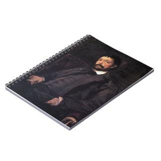 Konstantin Korovin- Portrait of Italian singer Journals