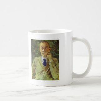 Konstantin Somov- Portrait of the composer Sergei Basic White Mug