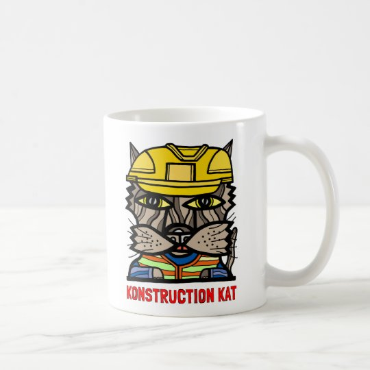 """Konstruction Kat"" 11 oz Classic Mug"