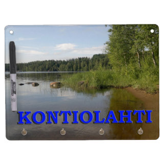 Kontiolahti Dry Erase Board With Key Ring Holder