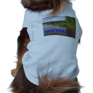 Kontiolahti Sleeveless Dog Shirt