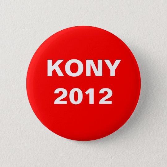 Kony 2012 6 cm round badge