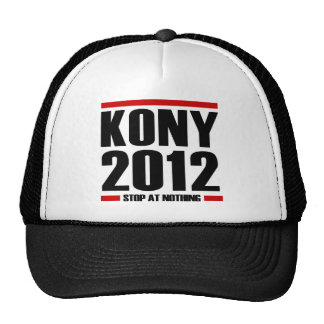 Kony 2012 cap