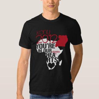 Kony 2012 Hearts Tee Shirt