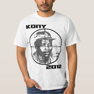Kony 2012 Joseph Kony Target Crosshairs T-Shirt