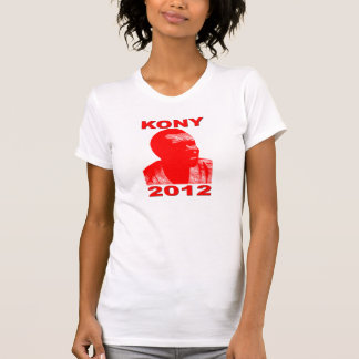 Kony 2012. Make Invisible Children Visible. Now. T-Shirt