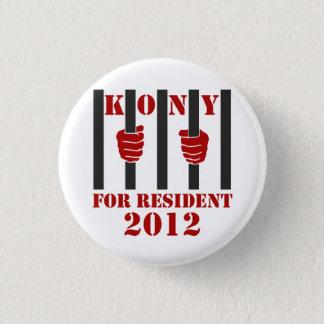 Kony 2012 Stop Joseph Kony Prison 3 Cm Round Badge