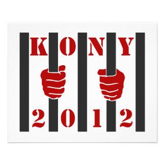 Kony 2012 Stop Joseph Kony Prison Flyers