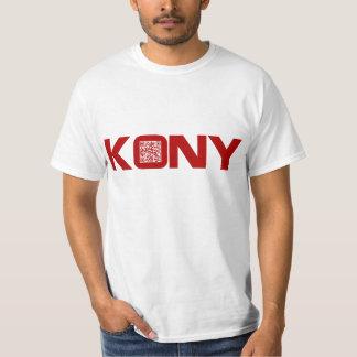 Kony 2012 Video Red QR Code Joseph Kony T-Shirt